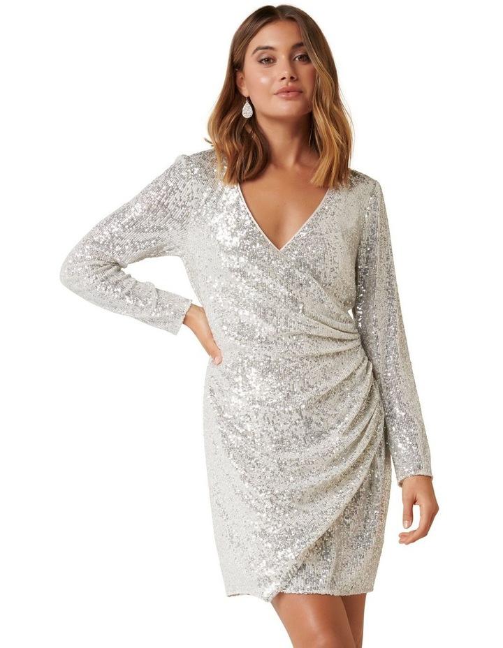 Jessica Long Sleeve Sequin Dress image 1