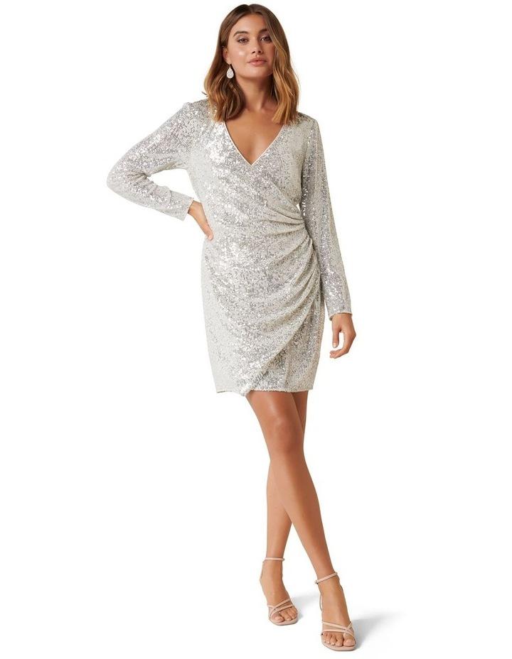 Jessica Long Sleeve Sequin Dress image 4