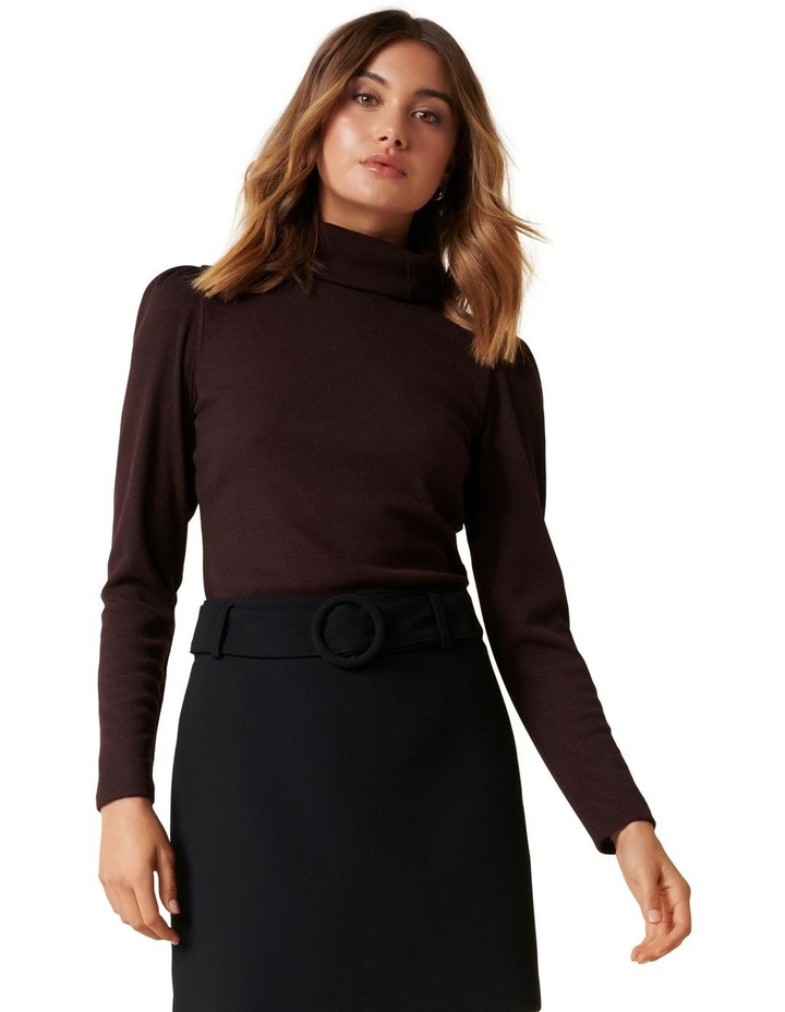 Rochelle Roll Neck Fashion Skivvy image 1