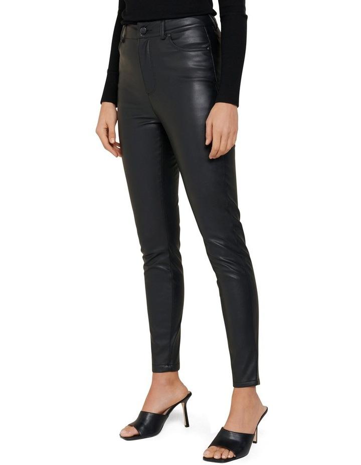 Penelope PU High Waisted Pants image 2