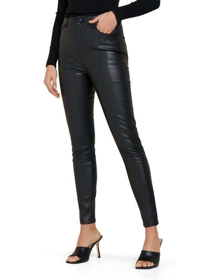 Penelope PU High Waisted Pants image 4