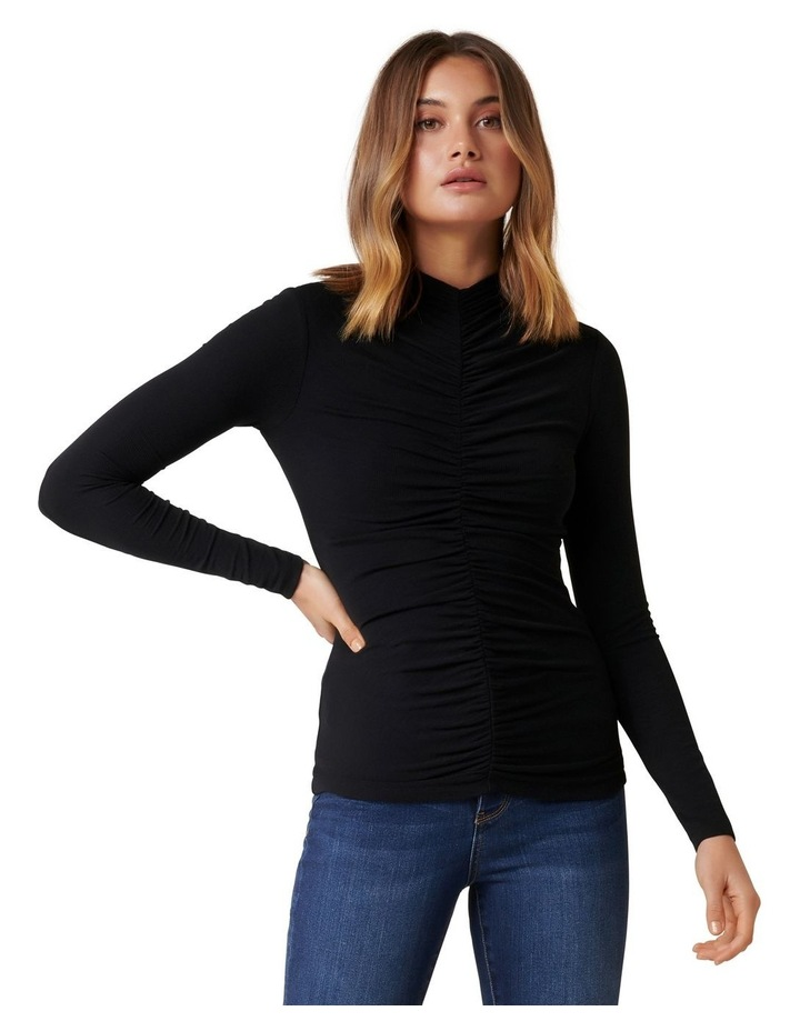 Ava Ruched Front Skivvy image 1