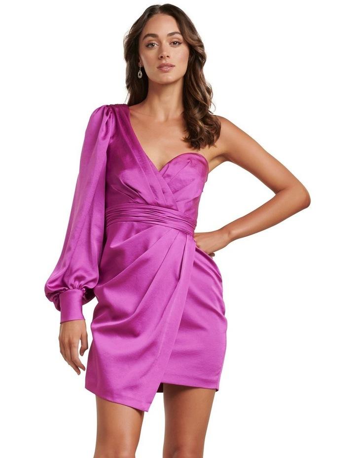 Monica One Sleeve Mini Dress image 1
