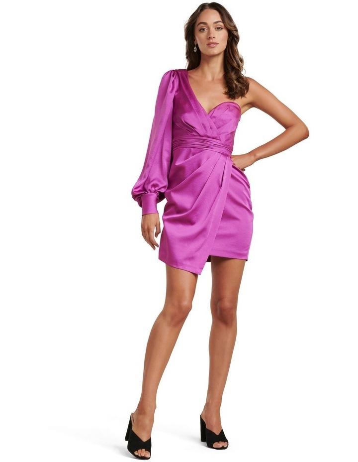 Monica One Sleeve Mini Dress image 4
