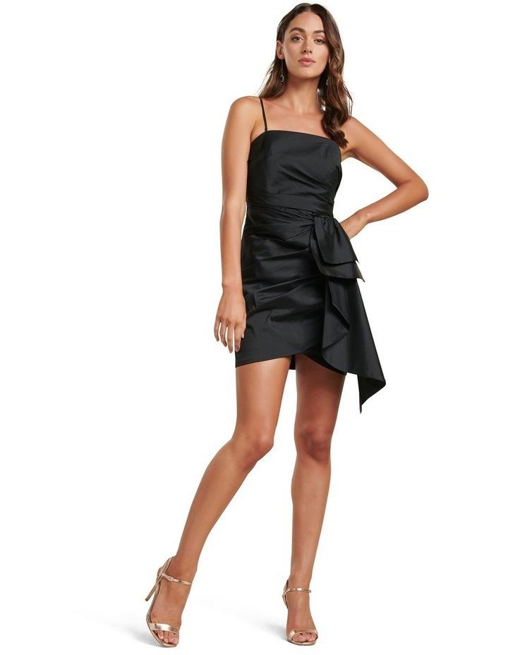 Mira Taffeta Ruched Mini Dress image 4