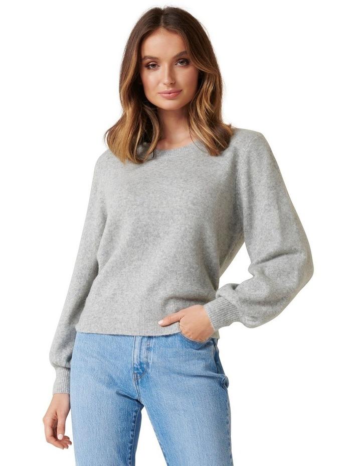 Elissa Blouson Sleeve Wool Jumper image 1