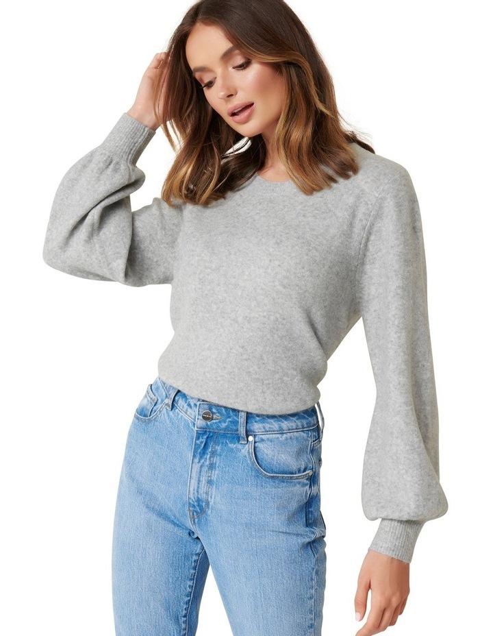 Elissa Blouson Sleeve Wool Jumper image 2