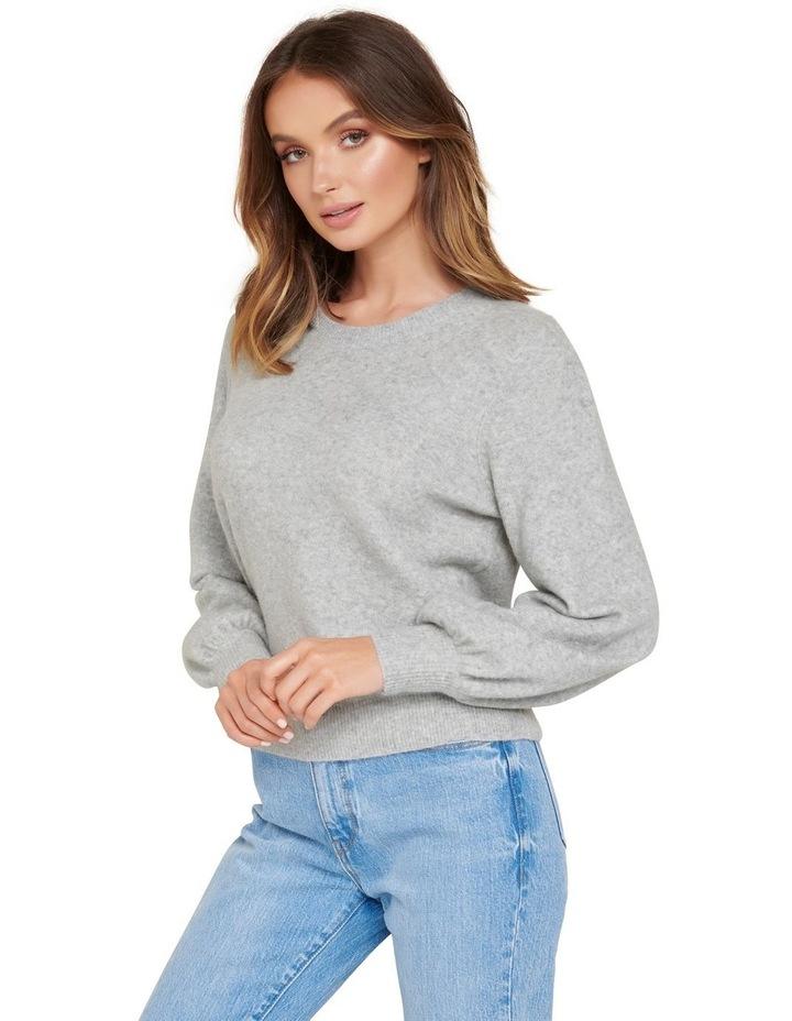 Elissa Blouson Sleeve Wool Jumper image 3