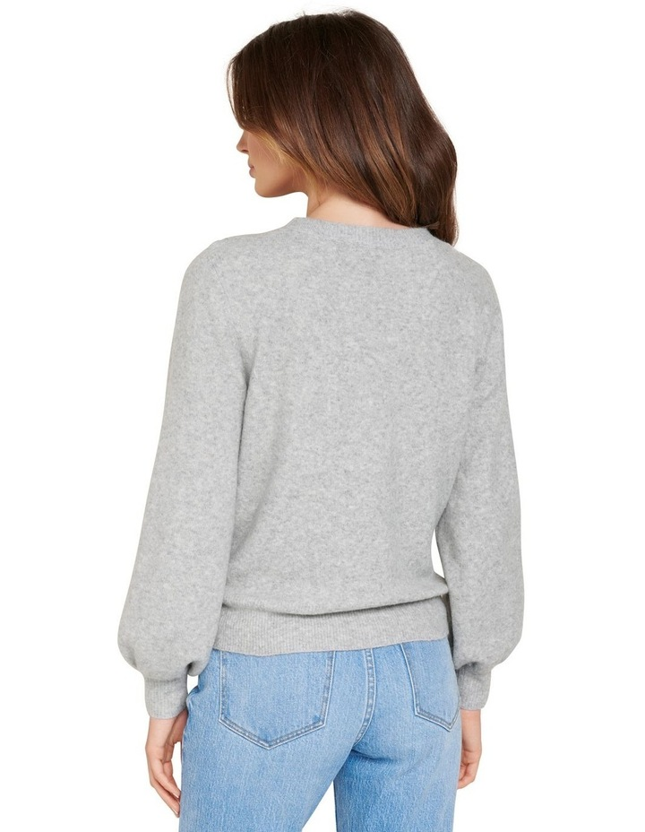 Elissa Blouson Sleeve Wool Jumper image 4