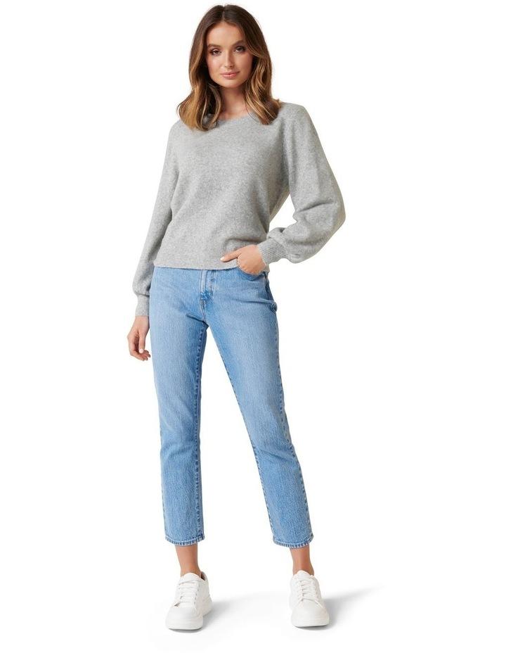 Elissa Blouson Sleeve Wool Jumper image 5
