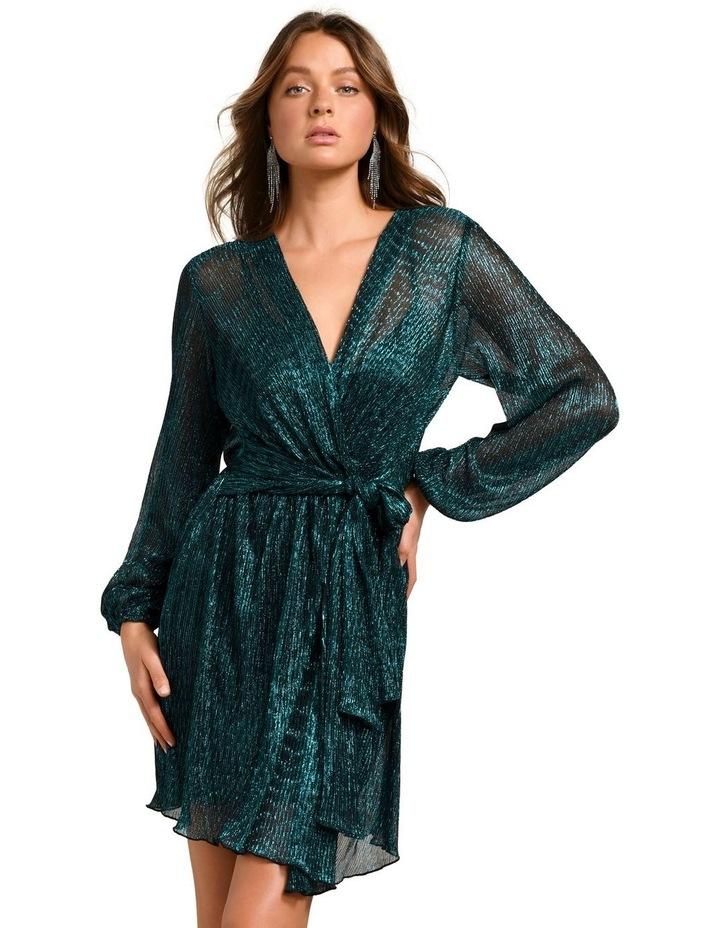 Silvia Plisse Mini Dress image 1