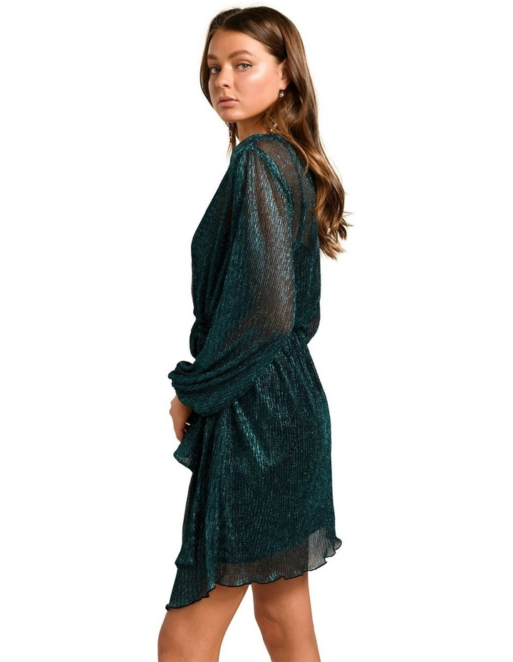 Silvia Plisse Mini Dress image 3