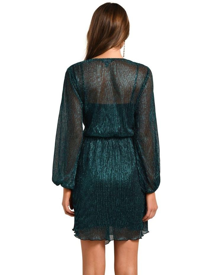 Silvia Plisse Mini Dress image 4