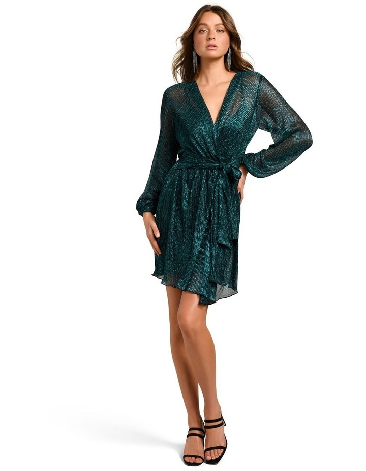 Silvia Plisse Mini Dress image 5