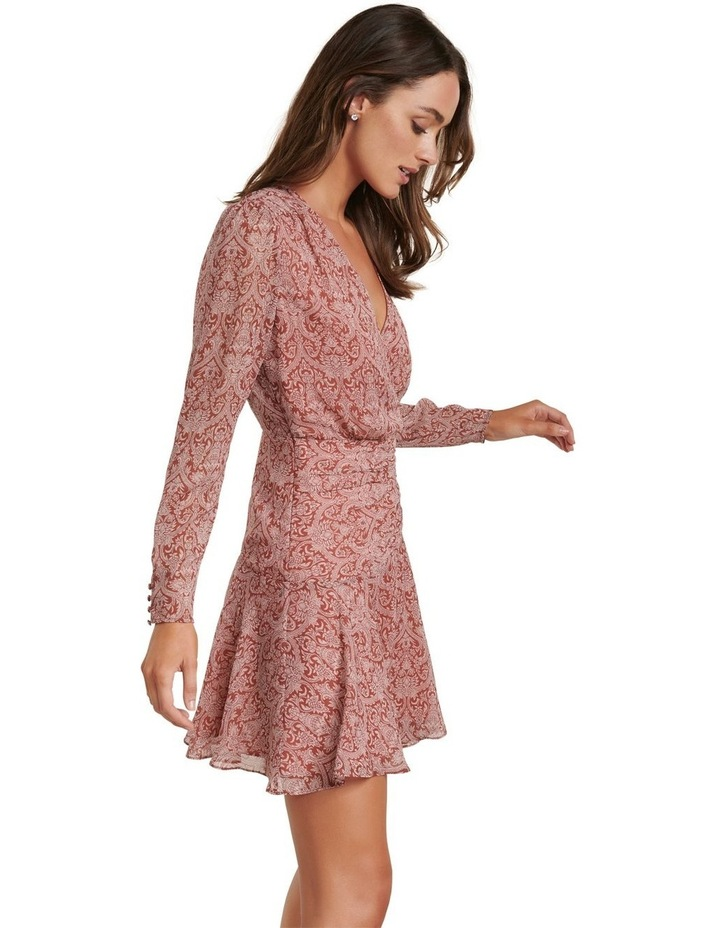Harmony Long Sleeve Skater Dress image 3