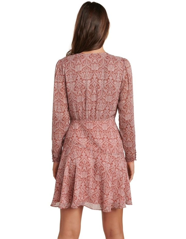 Harmony Long Sleeve Skater Dress image 4