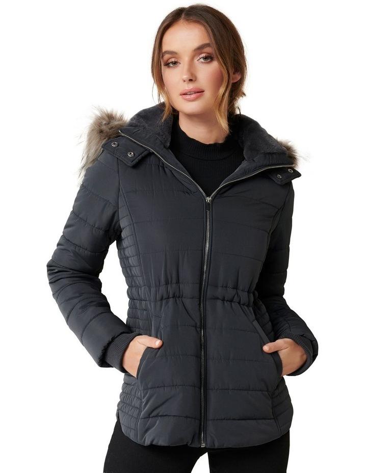 Lisa Short Puffa Coat image 2