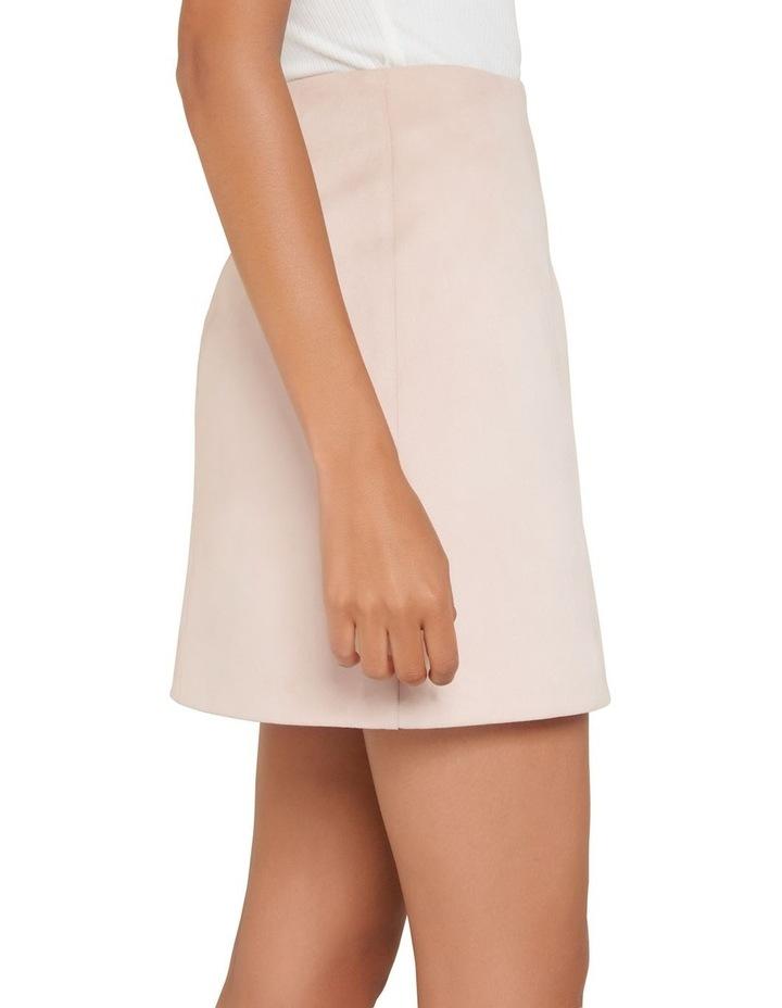 Scarlette Seamed Suedette Mini Skirt image 2