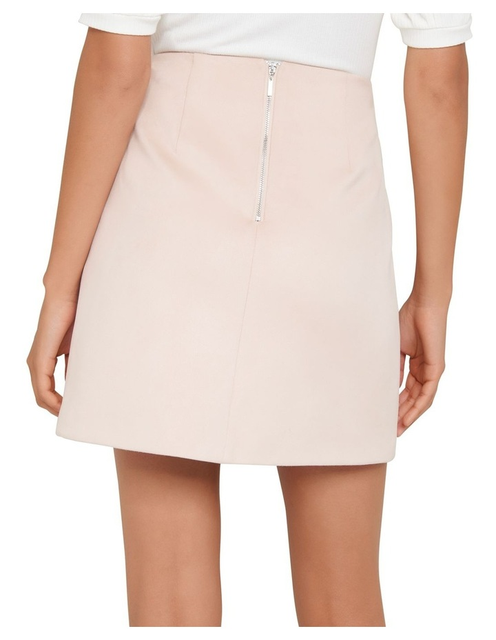 Scarlette Seamed Suedette Mini Skirt image 3