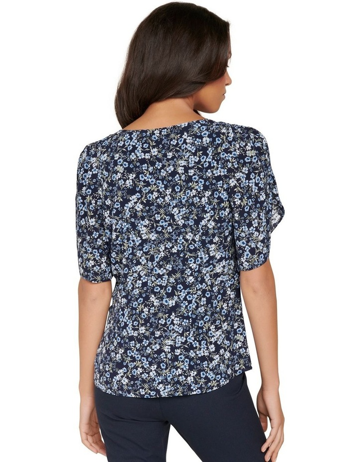 Savanna Petal Sleeve Blouse image 4