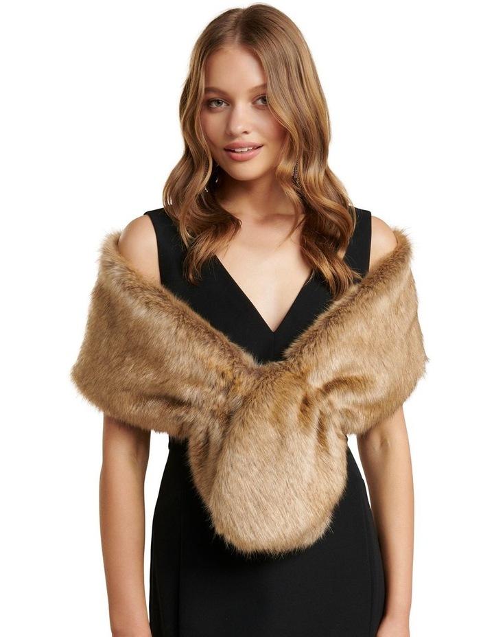 Stephanie Faux Fur Scarf image 1
