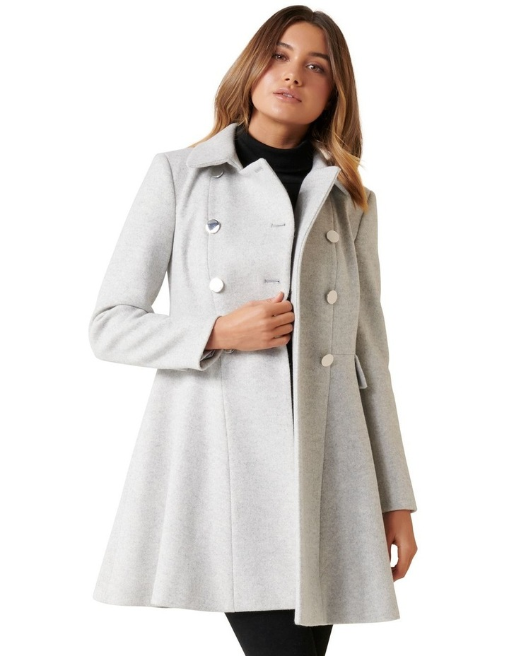 Louise Fit & Flare Coat image 2