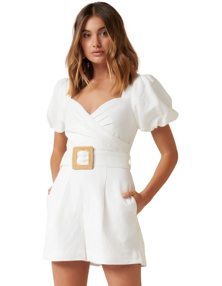 Nadia Sweetheart Belted Playsuit image 1