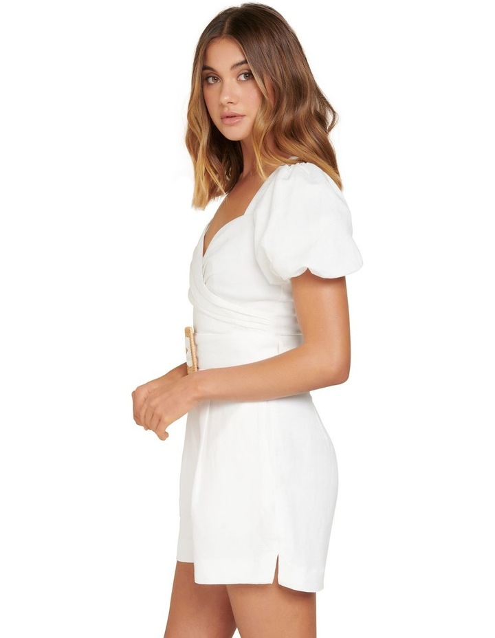 Nadia Sweetheart Belted Playsuit image 2