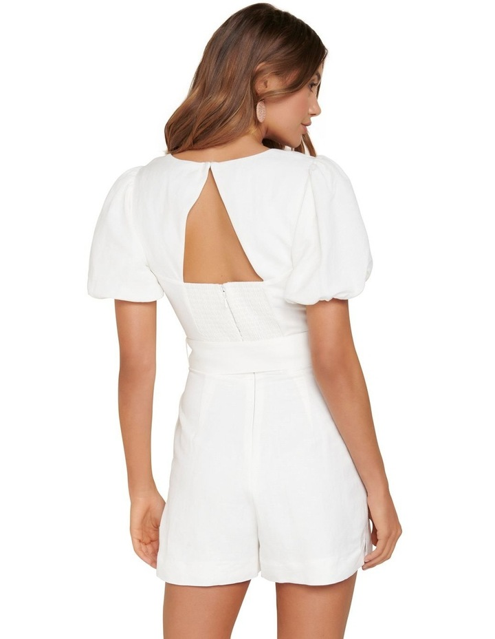 Nadia Sweetheart Belted Playsuit image 3