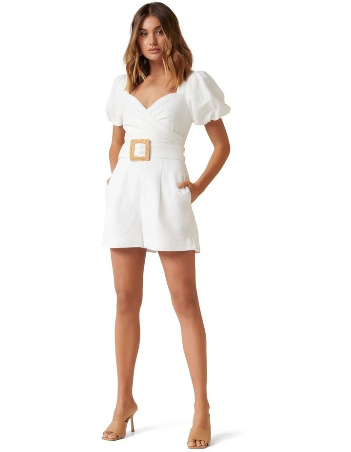 Nadia Sweetheart Belted Playsuit image 4