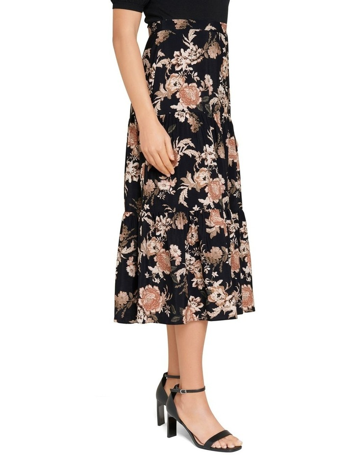 Olivia Tiered Midi Skirt image 2