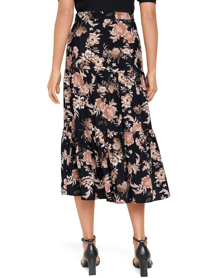 Olivia Tiered Midi Skirt image 3