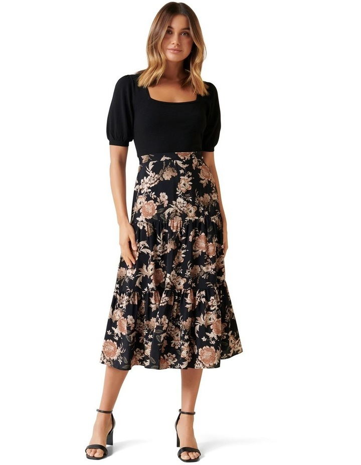Olivia Tiered Midi Skirt image 4