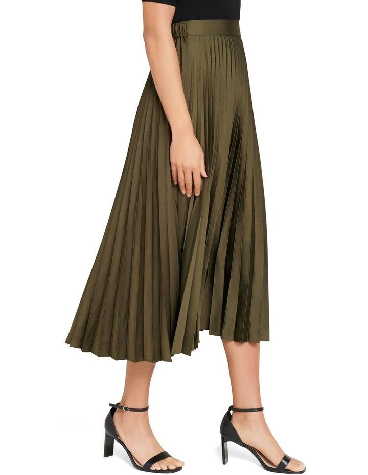 Ester Satin Pleated Skirt image 2