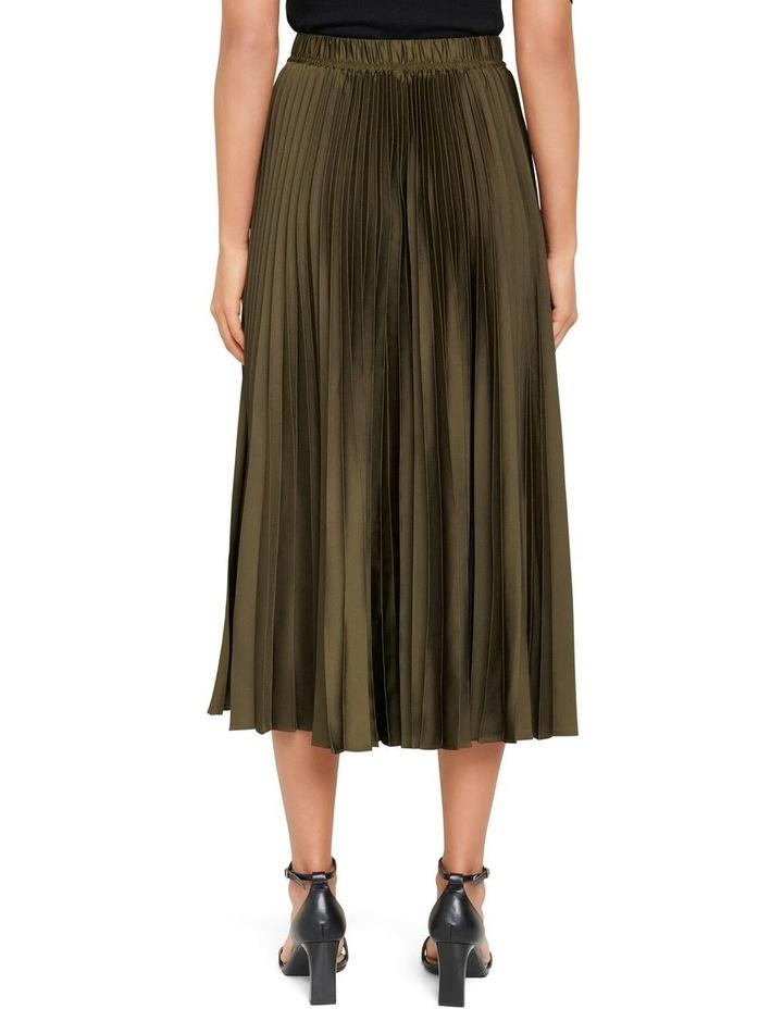 Ester Satin Pleated Skirt image 3