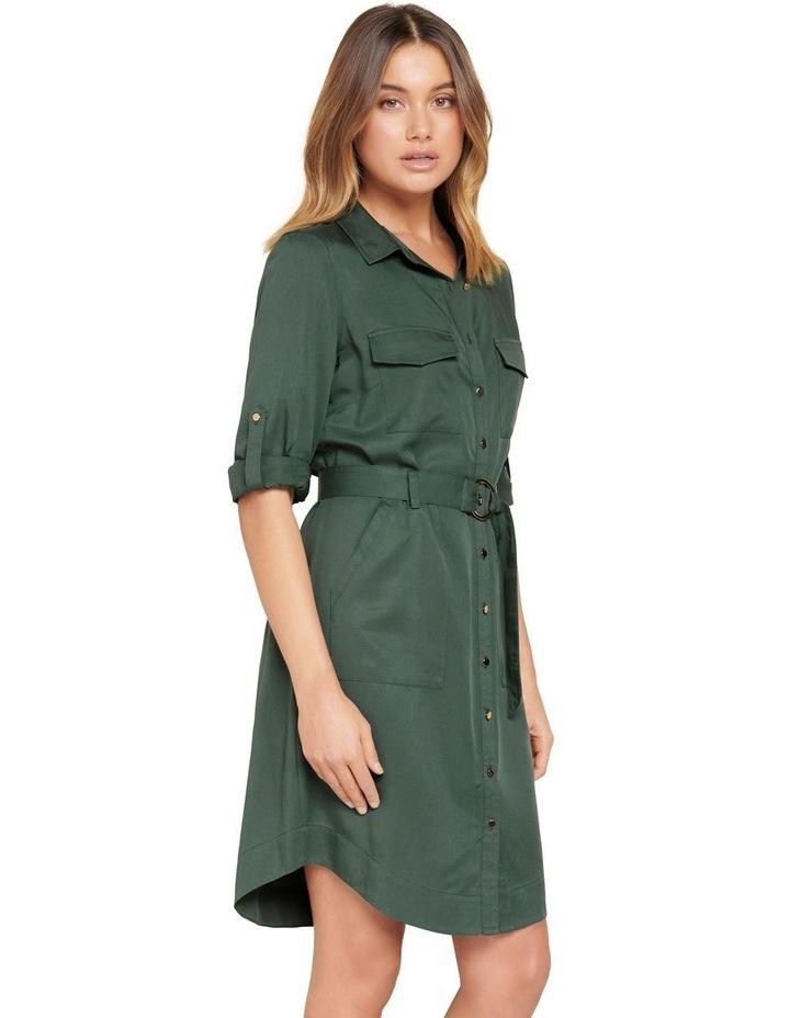 Portia Belted Shirt Dress image 2
