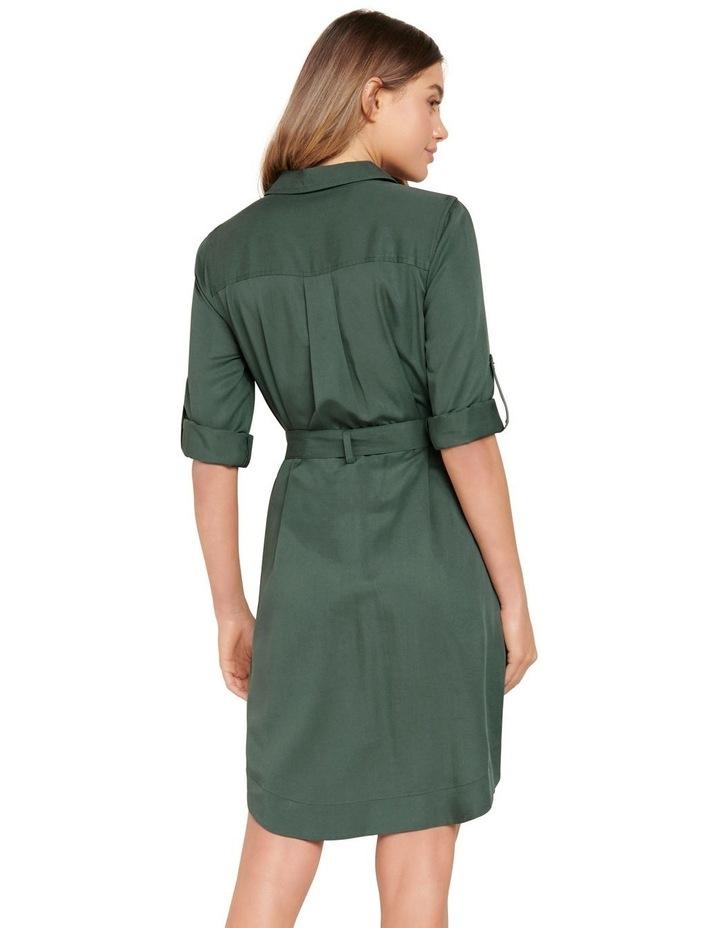 Portia Belted Shirt Dress image 3