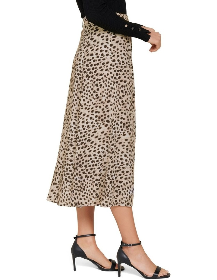 Alyssa Button Front Midi Skirt image 3
