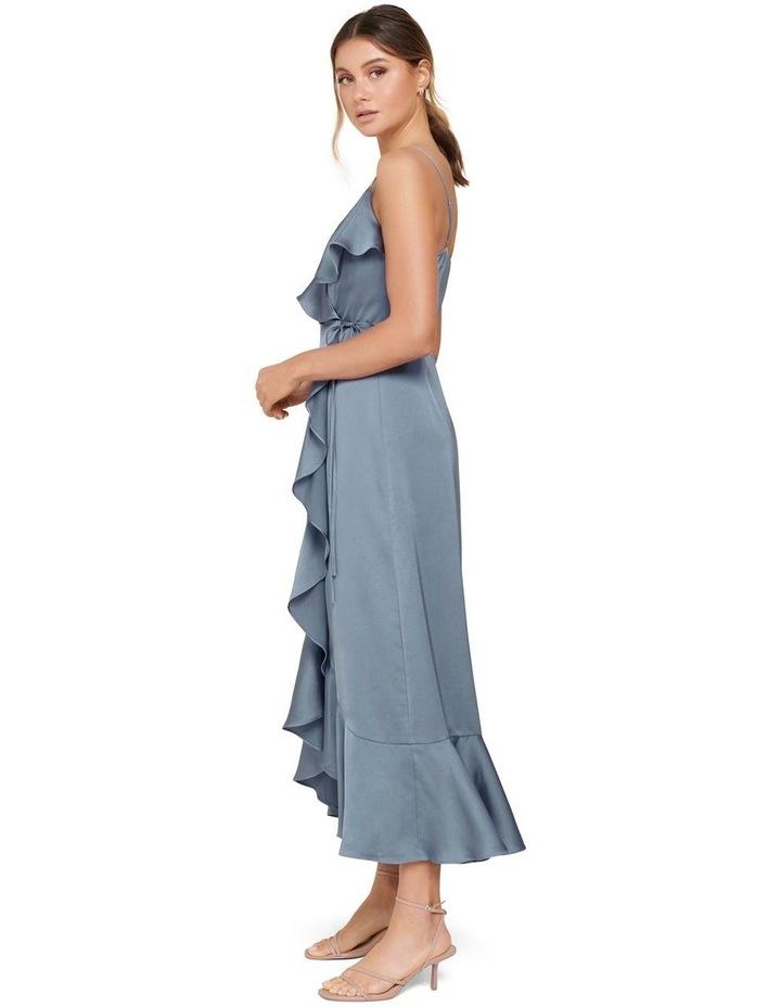 Ivana Wrap Frill Midi Dress image 2