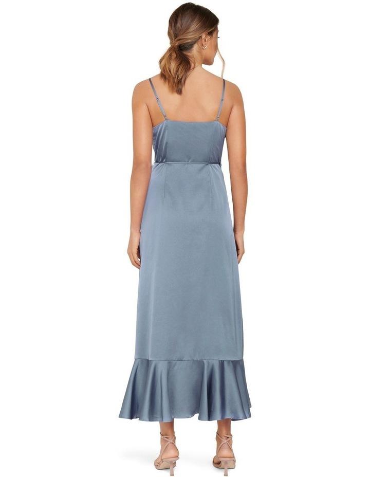 Ivana Wrap Frill Midi Dress image 3