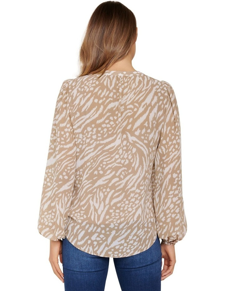 Milly Collarless Blouse image 4