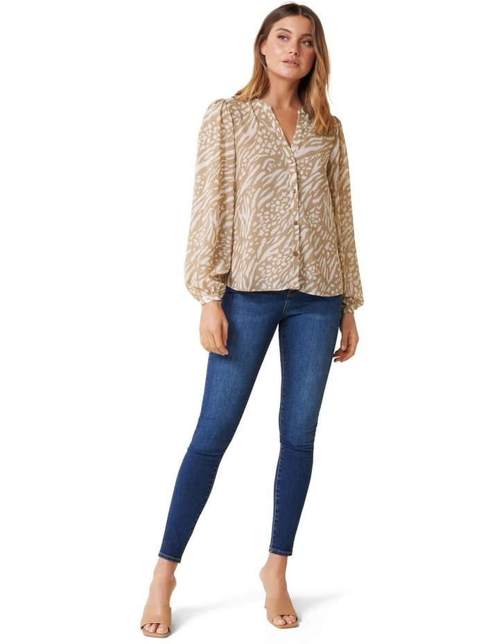 Milly Collarless Blouse image 5