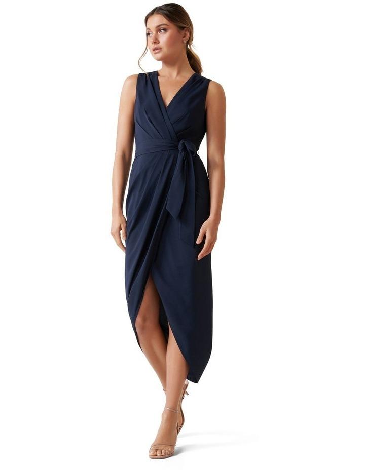 Liza Wrap Midi Dress image 1