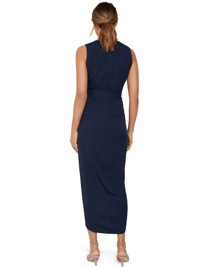 Liza Wrap Midi Dress image 3