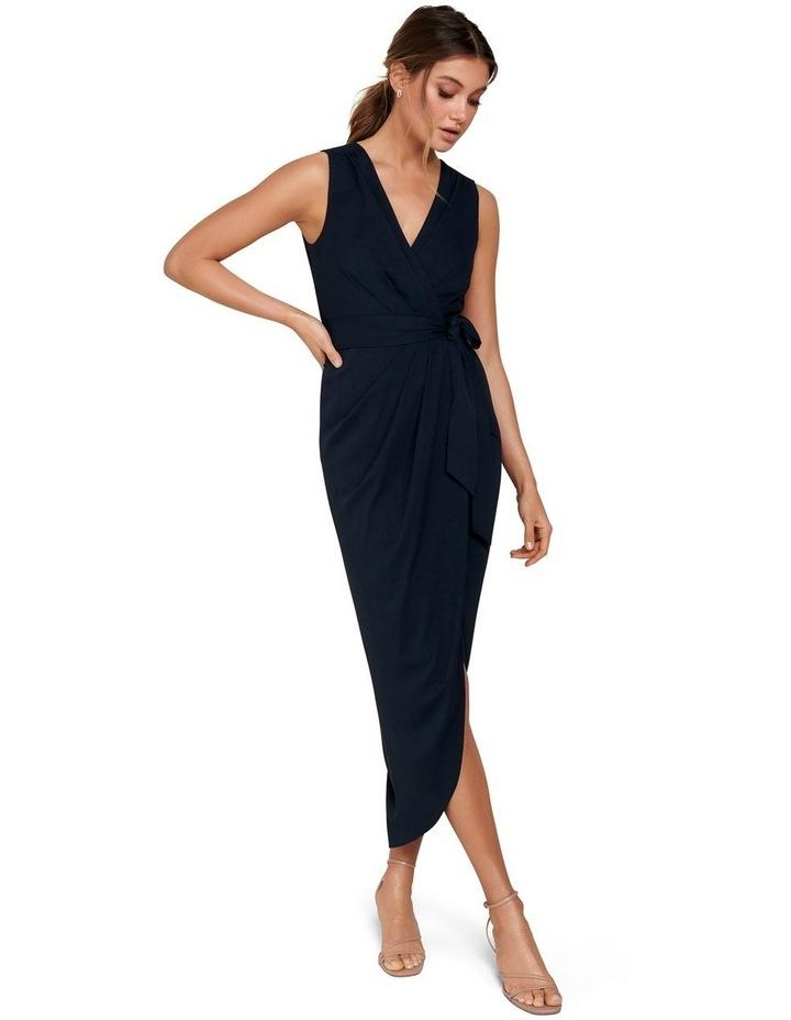 Liza Wrap Midi Dress image 4