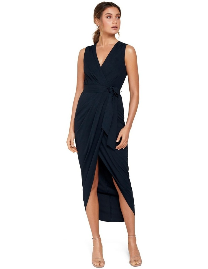 Liza Wrap Midi Dress image 5
