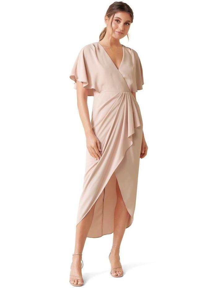 Jasmine Batwing Wrap Midi Dress image 1