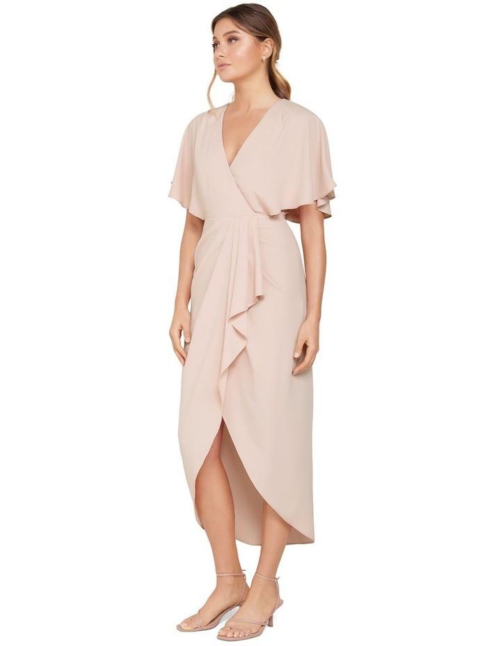 Jasmine Batwing Wrap Midi Dress image 2