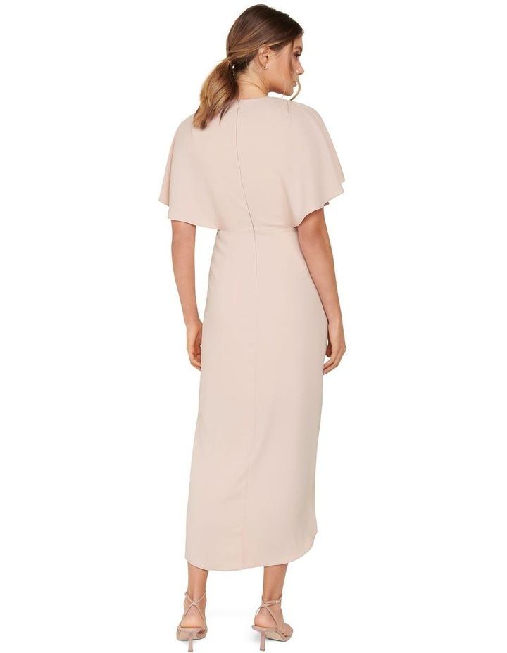Jasmine Batwing Wrap Midi Dress image 3