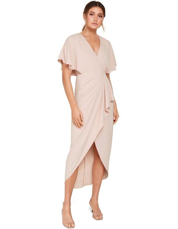 Jasmine Batwing Wrap Midi Dress image 4